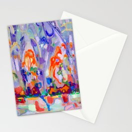Abstract light Stationery Cards