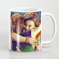 larry stylinson Mugs featuring Home - Larry by art-changes