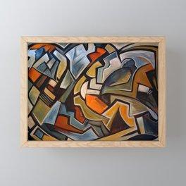 La Duree de Vie Moyenne d'un Papillon Framed Mini Art Print