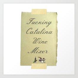 Catalina Wine Mixer Art Print