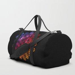 Flower of life mosaic Duffle Bag