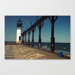 Outer Lighthouse Canvas Print