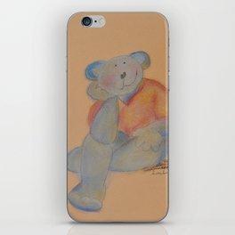 teddy bear in love iPhone Skin