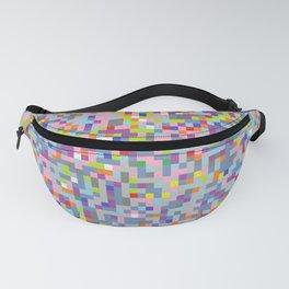 Colorful Random Squares Fanny Pack