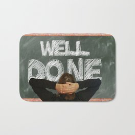 Well Done (talkers) Bath Mat