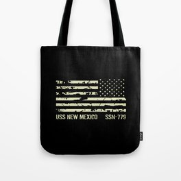 USS New Mexico Tote Bag