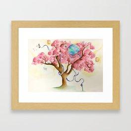 Peace Treety Framed Art Print