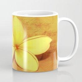 Yellow Plumeria Coffee Mug