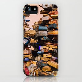 Prague LoveLocks iPhone Case