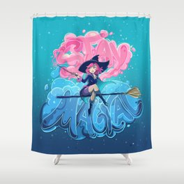Stay Magical Shower Curtain