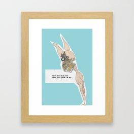 noi Framed Art Print