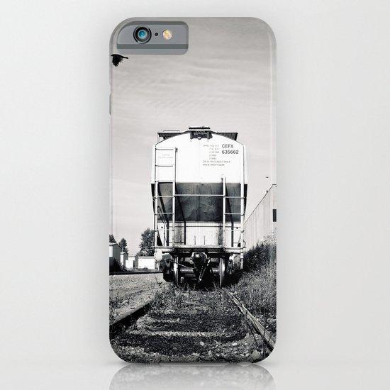 Train car waiting iPhone & iPod Case
