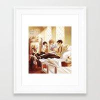 viria Framed Art Prints featuring marauders2 by viria
