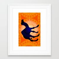camel Framed Art Prints featuring Camel by Katherine Marshall
