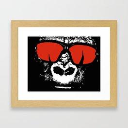 Stylish Gorilla Framed Art Print