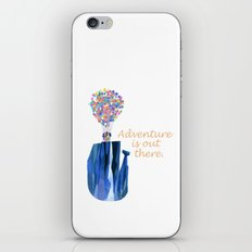Adventure is out there .. version two iPhone & iPod Skin
