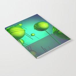 Toxic Lollipop Notebook