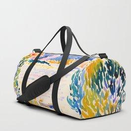 Henri-Edmond Cross Neo-Impressionism Pointillism Cap Nègre 1909 WatercolorPainting Duffle Bag
