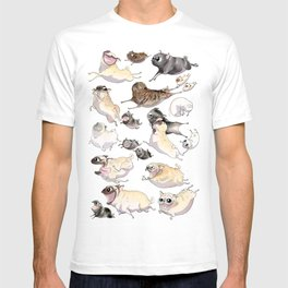 Pugs on the Move T-shirt