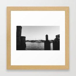 Yhats of Annapolis Framed Art Print