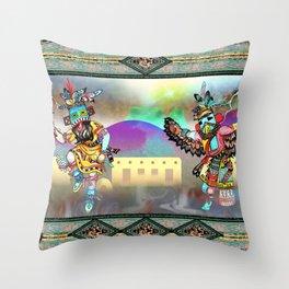 Kachina Eagle Throw Pillow