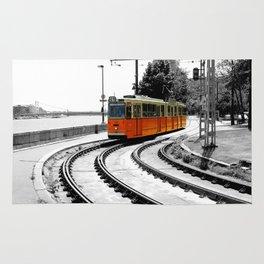 Budapest Tram Rug