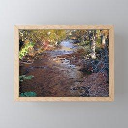 Mill River Framed Mini Art Print