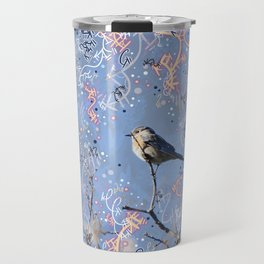 Little Bluebird in the Sun Travel Mug