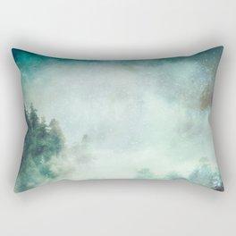 Galaxy Forest Rectangular Pillow