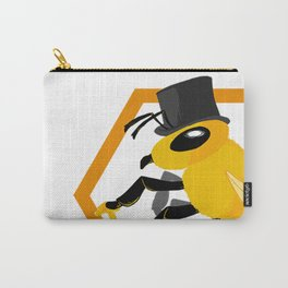 Bee Fancy Carry-All Pouch