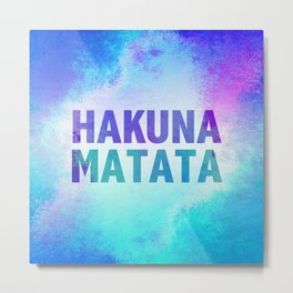 Hakuna Matata III Metal Print