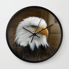 Eagle's sharp eye Wall Clock
