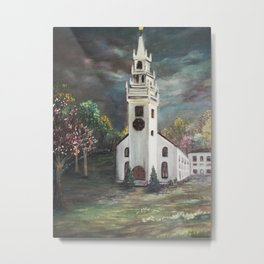 Trinity Church, Newport, RI Metal Print