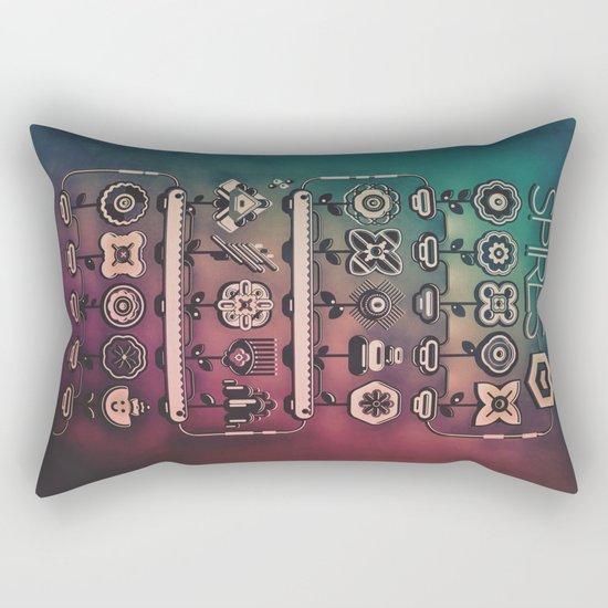SPIRES IRRIGATION (2014) Rectangular Pillow