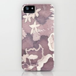 Floral Paisley iPhone Case