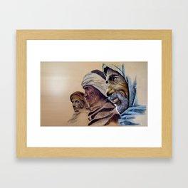FREE SPIRITS - sunny version Framed Art Print