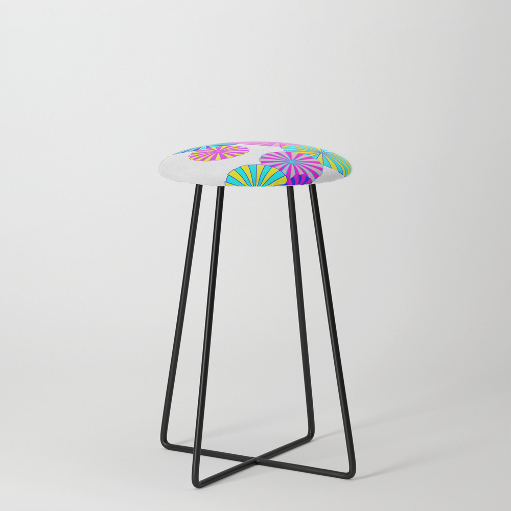 Parasols Counter Stool by Mellowcat (CST7747671) photo