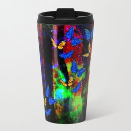 butterfly forest Travel Mug