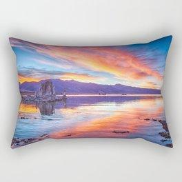 Mono Lake Sunset Rectangular Pillow
