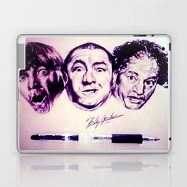 The Three Stooges Laptop & iPad Skin