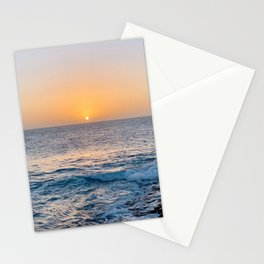 The perfect sunset Stationery Cards