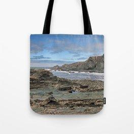 Hartland Quay Coast Tote Bag