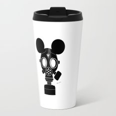 Post World Zuno : Gas Mask 01 Travel Mug