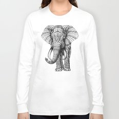 Ornate Elephant Long Sleeve T-shirt