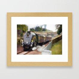 Union of South Africa Steam Engine 60009 Framed Art Print