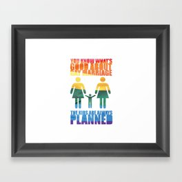 LGBT Parenting Framed Art Print