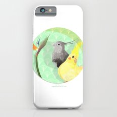 Two Cockatiels iPhone 6s Slim Case