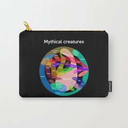 Epic Mythical Creatures chart Carry-All Pouch