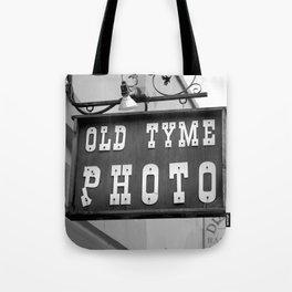 Old Tyme Photo - Grunge Tote Bag
