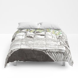 city detail Comforters